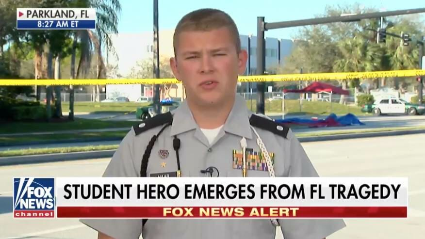 CNN Refuses to Allow Florida Shooting Hero to Ask Questions That Didn't Fit Their Narrative (VIDEO)