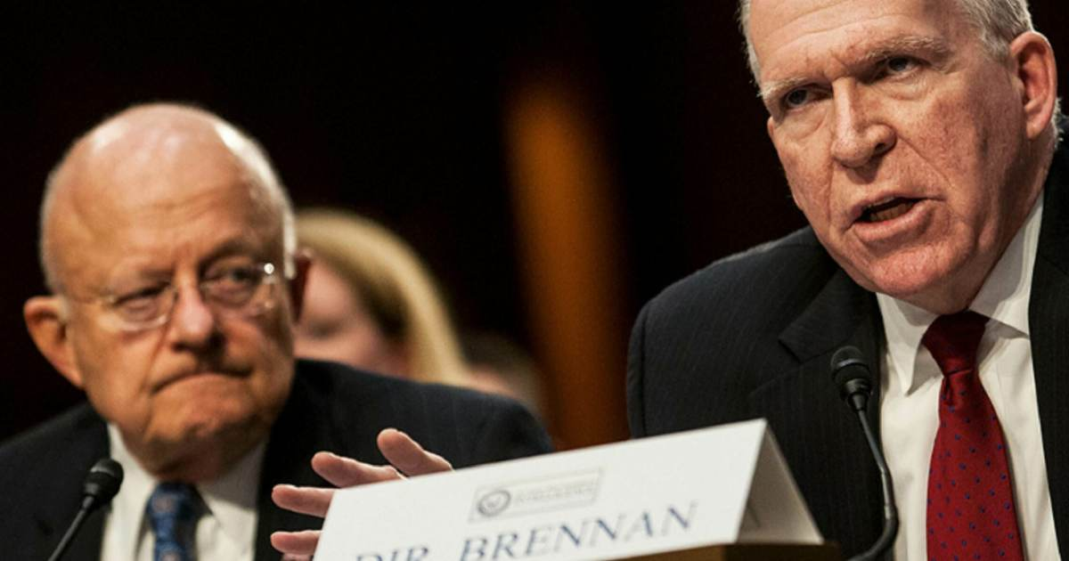 photo image It's Happening: Deep State and Fake News Media Getting Very Worried – Durham to interview Clapper and Dirty John Brennan