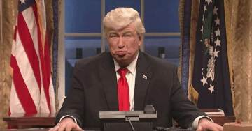 Alec Baldwin Urges Donors to 'Overthrow the Government' at Democrat Fundraiser