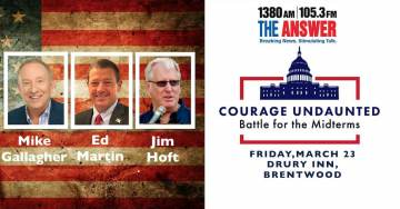 COURAGE UNDAUNTED: Battle for the Mid-Terms Event 3/23/18 – With Ed Martin, Mike Gallagher and Jim Hoft