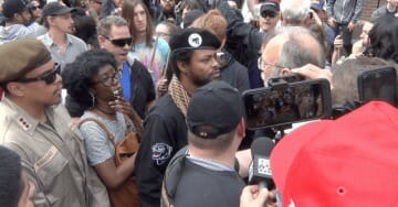 CHAOS as Black Panthers and Brown Berets Crash TRUMP RALLY-MARCH in Portland (VIDEO)
