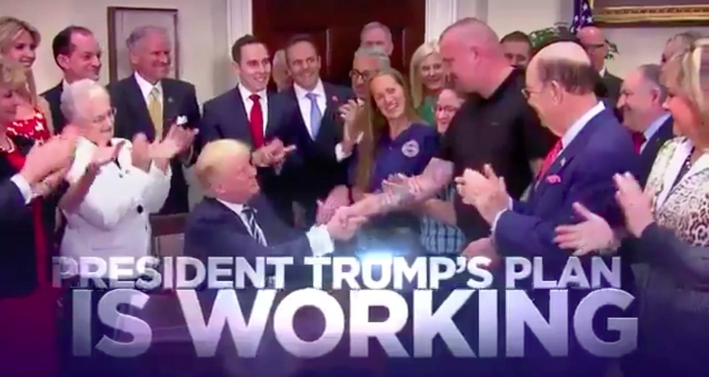 POTUS TRUMP's Reelection Campaign Releases Television Ad Touting Accomplishments (VIDEO)