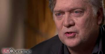 Bannon on #60Minutes: 'Hillary Clinton's Not Very Bright' (VIDEO)