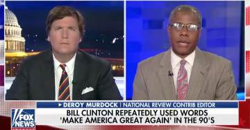 Deroy Murdock to Tucker Carlson: Democrats Are 'Fresh Out of Ideas, They Don't Have An Agenda' (VIDEO)