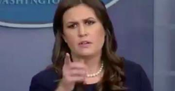 SARAH SANDERS: Trump Will Be Remembered For Defeating ISIS, One Of The Strongest Economies, & Millions Of American Jobs