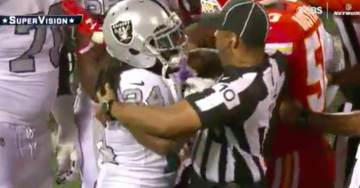Anti-Trump NFL Player Comes Unglued – Is Ejected From Game For PUSHING Ref (VIDEO)