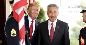 """Singapore's Prime Minister Loong On Meeting With POTUS Trump: """"Our Relations Are Prospering"""" [Full Exchange]"""