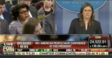 Ouch! Sarah Huckabee Sanders to April Ryan: Your Mind is in the Gutter