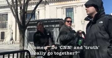 WATCH: Laura Loomer Confronts FAKE NEWS CNN's Jim @Acosta