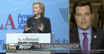 """GAETZ: Andrew McCabe's Testimony Revealed DOJ Officials Were """"Paving The Way For Hillary Clinton"""" (VIDEO)"""