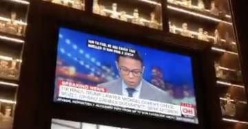 Trump DC Hotel Bizarrely Airs CNN In Lobby On Same Day FBI Raids Offices Of Lawyer Michael Cohen (VIDEO)