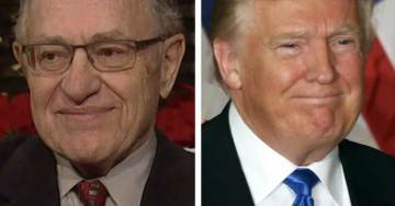 REPORT: Alan Dershowitz Huddling With Trump At White House Amid Rumors POTUS Wants Lawyer To Join Legal Team