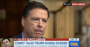 James Comey Admits He Never Told POTUS Trump That Steele Dossier Was Funded By DNC (VIDEO)