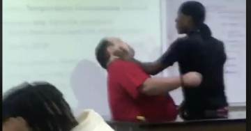 WATCH: Texas Student Attacks Teacher, Knocks Papers Off Desk, For Confiscating His Cellphone