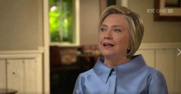 Hillary Tells of Screaming Into Pillow, Election Night Shock in Irish TV Interview.