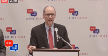 DNC Chair Perez Silent as Pres. Trump Rips Dems, Pelosi as 'MS-13 Lovers'