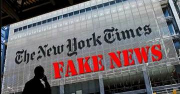 "FAKE NEWS: NYT Claims President Trump ""Watches Up To 8 Hours of TV Per Day"""