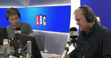 Steve Bannon to Liberal UK Host: F**k You. Don't You F**king say You're Calling Me Out. You F**king Liberal Elite.