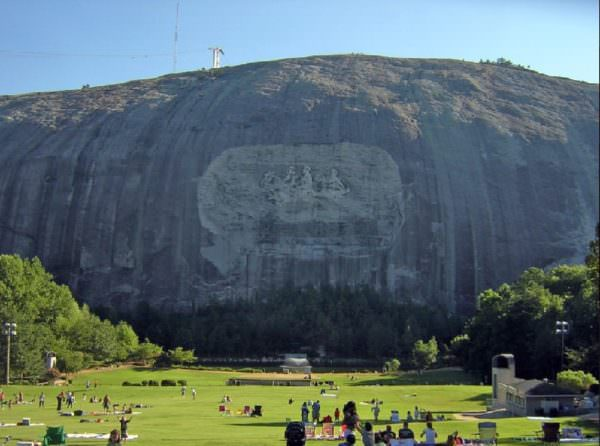 Mao Would be Proud: Next on Liberal's List for Destruction- Confederate Carvings at Stone Mountain Memorial