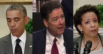 Comey Book Takes Aim At Obama And Lynch For Jeopardizing Clinton Email Probe