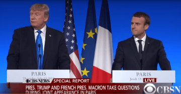 French President Macron and POTUS Trump Pledge to Eradicate Terrorism on Eve of Bastille Day