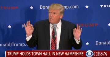 "VIDEO=> Trump Drops S-Bomb in New Hampshire: Rubio and Jeb Bush Playing Nice Is ""Political Bullsh*t!"""