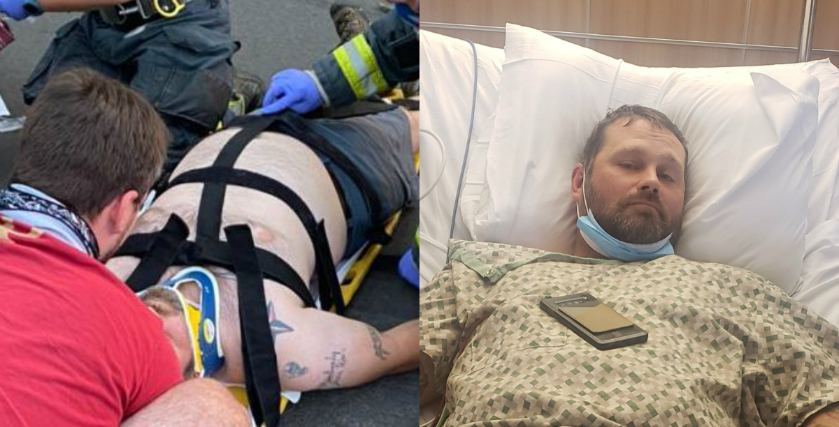 EXCLUSIVE: Proud Boy Ran Over By Black Lives Matter Activist Responds to Prosecutors Declining to Charge His Attacker