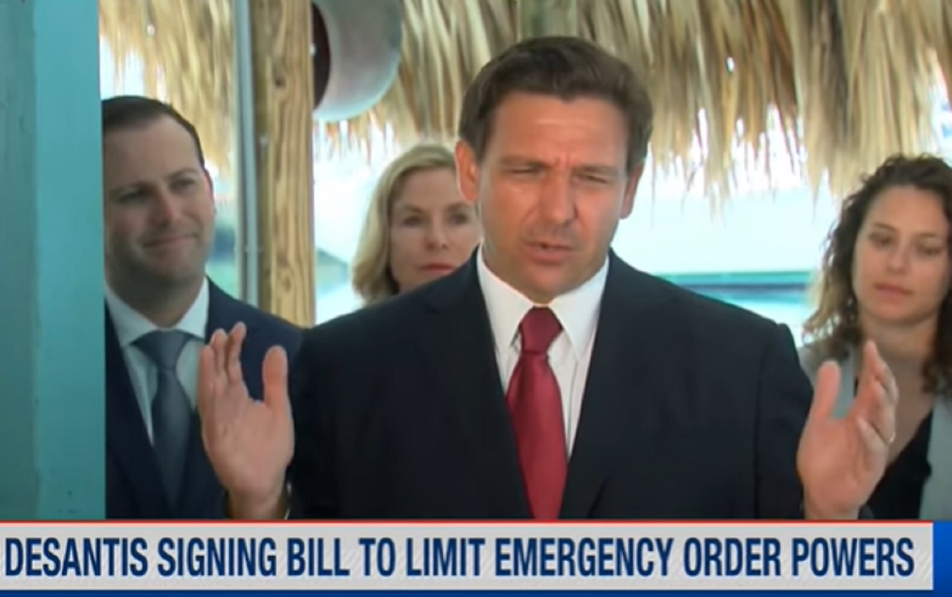 FREEDOM: DeSantis Suspends ALL Florida COVID Restrictions (VIDEO)