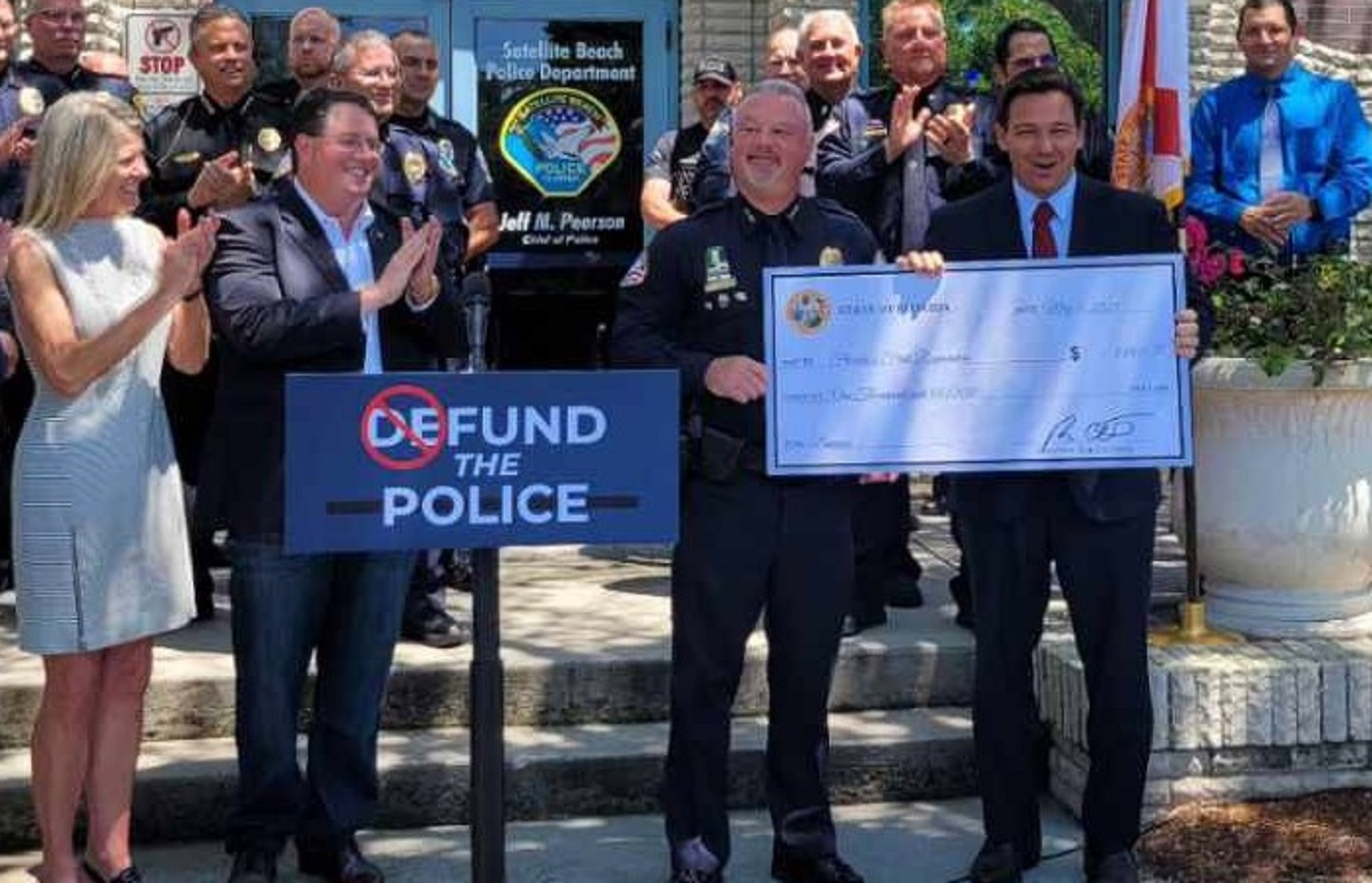 Florida Governor Ron DeSantis Announces $1K Bonuses to Law Enforcement, 'We're Funding the Police, and Then Some' (VIDEO)