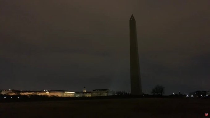Darkness in DC: Washington Monument Lights Go Out, National Park Service Investigating