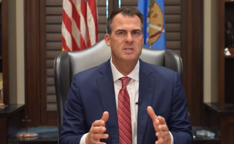 WATCH: Oklahoma Governor Stands Against Biden's Vaccine Mandates, Says Shots Are a 'Personal Choice'