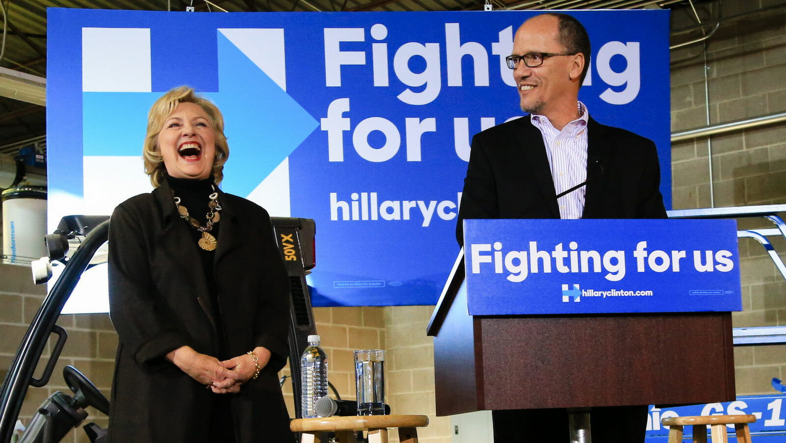 DNC Chairman Asked if Clinton Ordered the Party to File Lawsuit Against Trump/WikiLeaks, Responds: 'You'll Have to Ask Sec. Clinton'