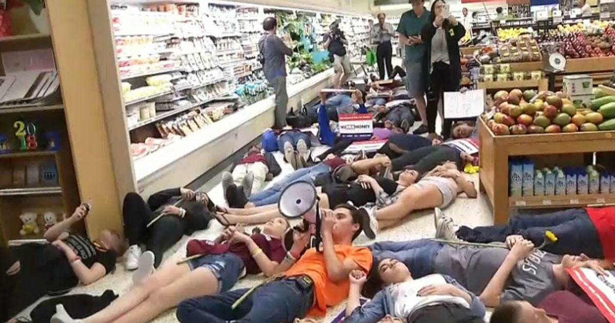 OOPS! David Hogg's Die-In Stunt Causes Publix to Cease Donations to Organizations That Fund Planned Parenthood