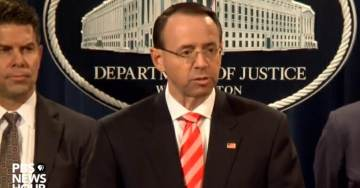 Rosenstein Announces Indictments of Nine Iranian Hackers