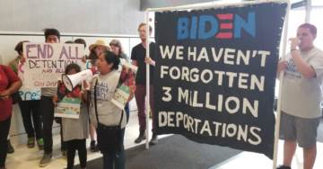 BREAKING: Illegal Immigrant Families Separated Under Obama Administration Staging Sit-In at Biden Campaign Headquarters