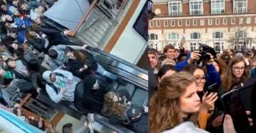 Violent Leftists at Ohio University Mob 'Gun Girl' Kaitlin Bennett As She Attempted to Conduct Interviews on Campus (VIDEOS)