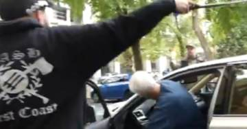 ANARCHY IN PORTLAND: City Allows Antifa to Direct Traffic, Pound on Cars, Harass Elderly Motorists (VIDEO)