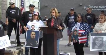 Ignored by Media: Families of Citizens Murdered By Illegal Aliens Hold Demonstration at US Southern Border
