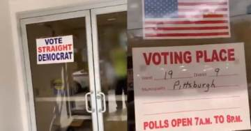 "VIDEO: Illegal Electioneering Caught on Camera in Pennsylvania, Voter Told ""Don't Go Making a Fool of Yourself"" After They Complained"