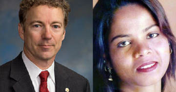 Senator Rand Paul Urges President Trump to Grant Asylum to Persecuted Christian Asia Bibi – And Stop Aid to Pakistan