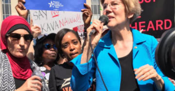 Elizabeth Warren to Speak at Immigration Conference With Linda Sarsour, Despite Women's March Controversy Over Her Anti-Semitism
