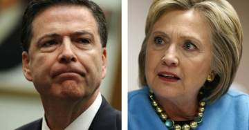 """But My Emails"" Crooked Hillary Trolls Comey After IG Report Reveals He Used Secret Gmail to Conduct FBI Business"