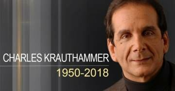 BREAKING: Charles Krauthammer Dead at 68