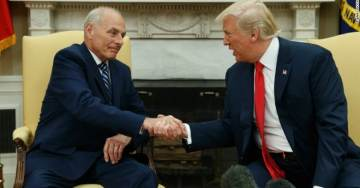 REPORT: Gen. John Kelly '100% Safe' From Firing After POTUS Trump & Chief of Staff Reach 'Truce'