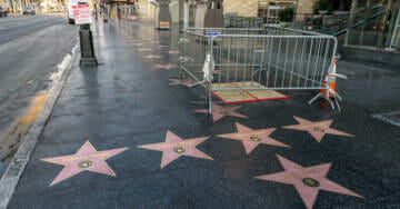 EXCLUSIVE: Right-Wing Street Artists Who Plastered Trump Stars on Hollywood Walk of Fame Issue 'Warning' to 'Resistors'