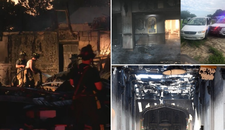 Three Churches Have Burned in Just Over 24 Hours, But You Wouldn't Know It If You Watch National News