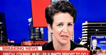 Conspiracy Theorist Rachel Maddow CRIES ON AIR Over Mueller Report and Announcement That There Will Be No More Indictments (VIDEO)