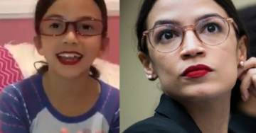 MUST WATCH: Hilarious Little Girl Does Outstanding Alexandria Ocasio-Cortez Impersonation