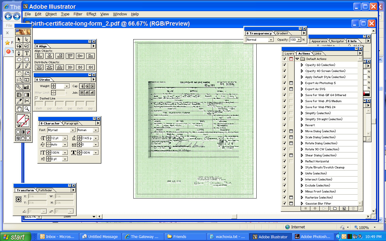 Critics obamas latest long form birth certificate is a fake i aiddatafo Image collections