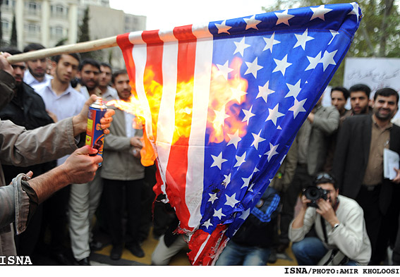 us flag iran